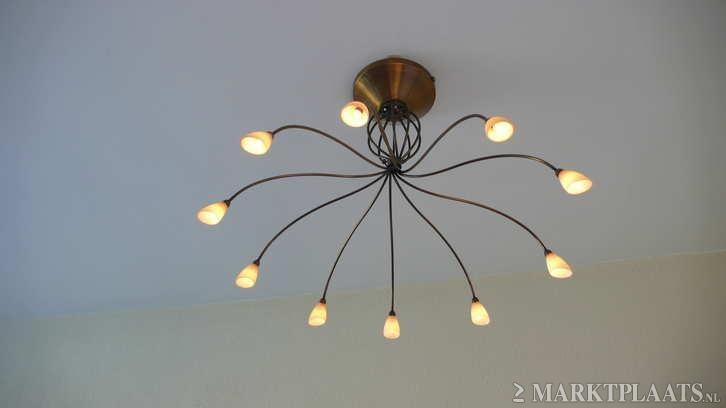 ... bronze hanglamp - Huis en Inrichting - Lampen  Plafondlampen