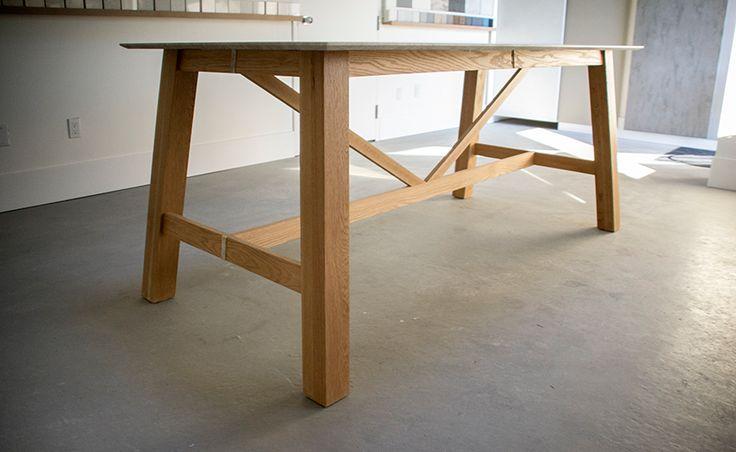 Willow & Stump Furniture Design Truss Showroom Table