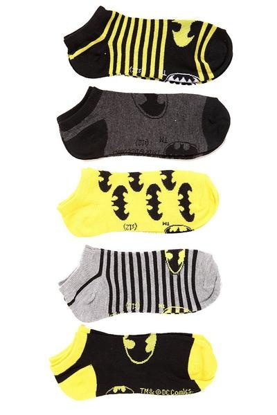 I found 'DC Comics Batman No-Show Socks 5 Pack - 172559' on Wish, check it out!