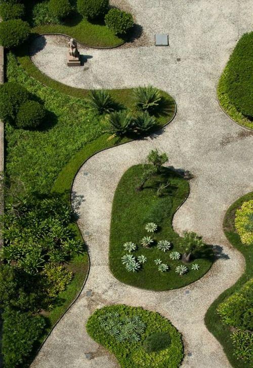 lambtime:    Roberto Burle Marx (Brazilian, 1909-1994), Garden Design,Ministry of Health and Education-roof garden, Rio de Janeiro, Brazil