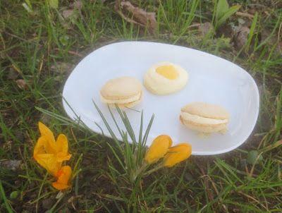 Barbaras Spielwiese: Macarons mit Eierlikör-Frischkäse-Füllung