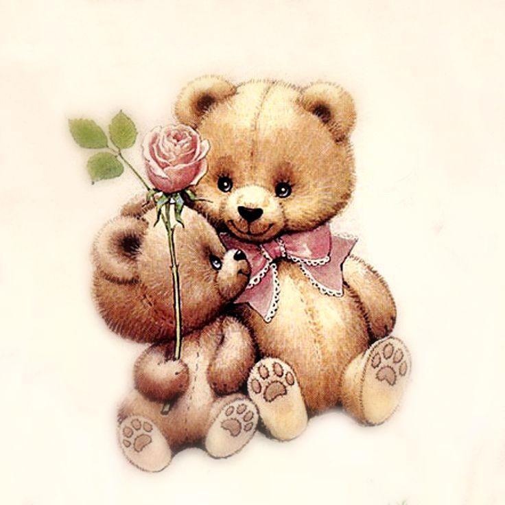 Поздравление, открытки медведей