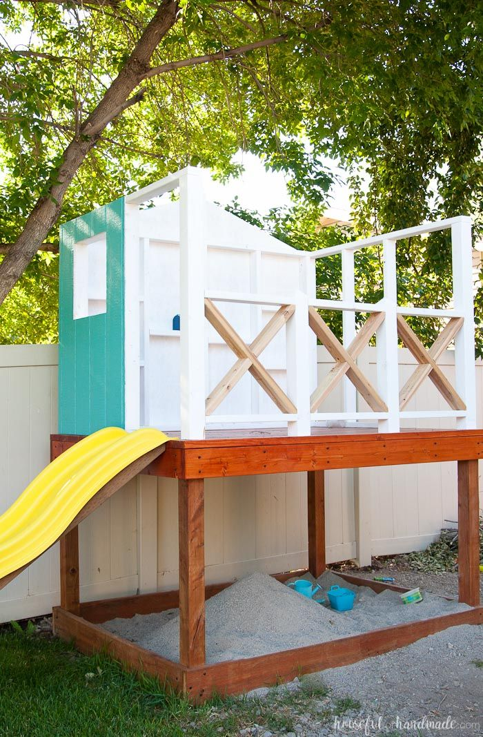 Best 25 diy playhouse ideas on pinterest wooden outdoor for Cost to build a playhouse