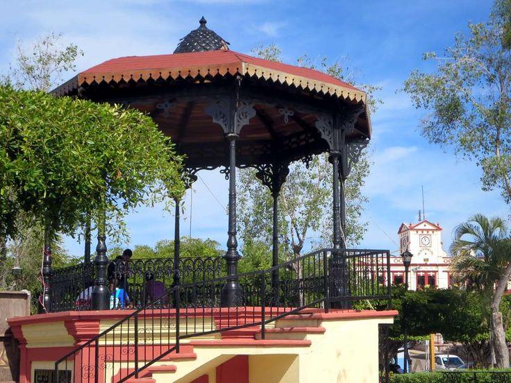 Plazuela Gabriel Leyva Solano is the central park of El Rosario, Sinaloa, Mexico.