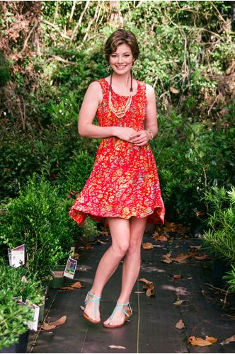 Tropical Travels Batik Dress | Knee length Batik dress | Indonesia | shopgofish.com
