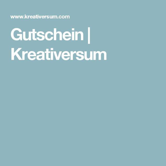 Gutschein | Kreativersum