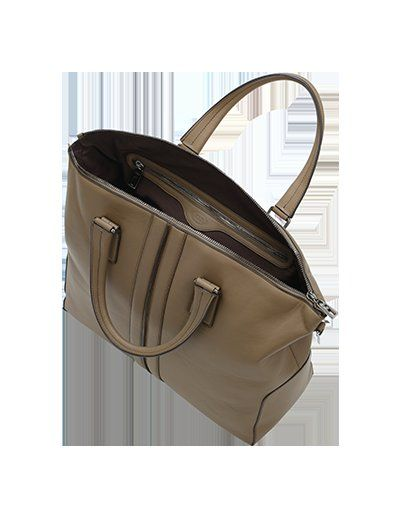 Tod's Borsa In Pelle Marrone Xbmmbsf0300qirc407 Outlet 2014