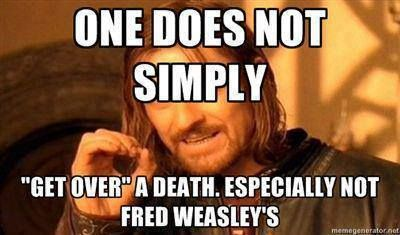 Harry Potter o-o Fred Weasley