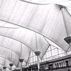 Teflon-coated fiber glass @ Denver International Airport (DEN).