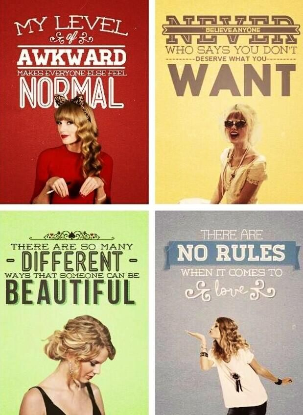 """I'll never change, but I'll never stay the same either."" - Taylor Swift"