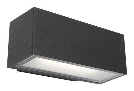CLUNY - Cast Aluminium 12W Exterior Wall Light - IP65