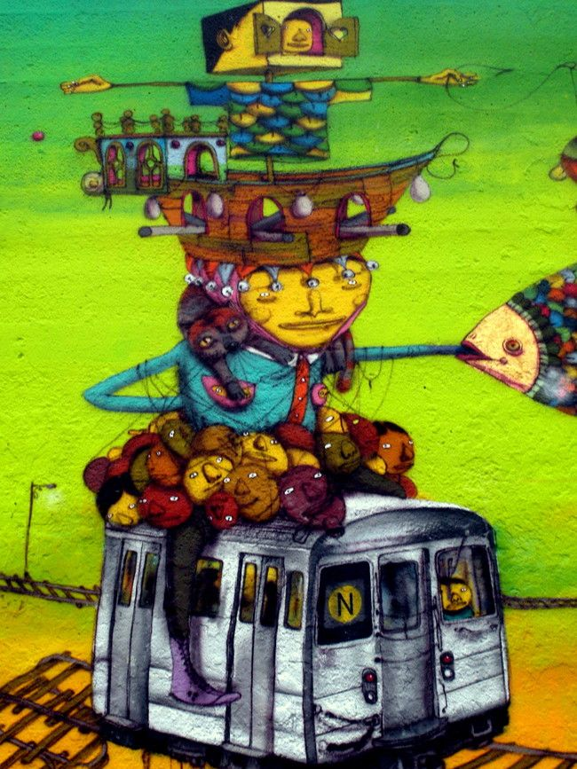 Characters By Os Gemeos - New York City (NY)