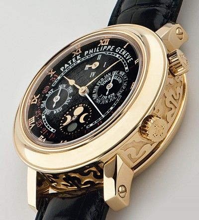 Patek Philippe | Yellow Gold Sky Moon Tourbillon - $1,2000,000 USD (Repetition, perpetual calendar, tourbillon, date complications)
