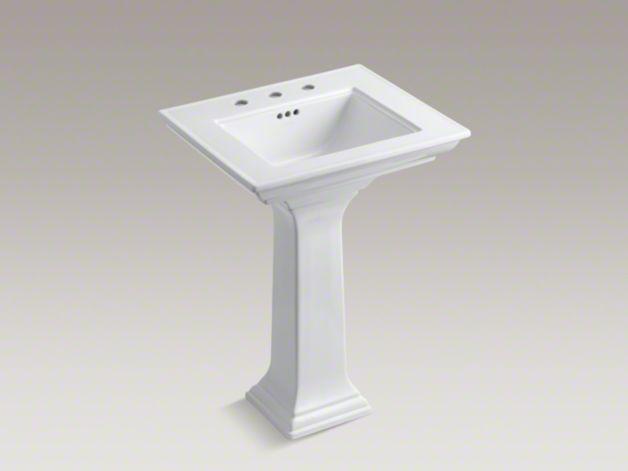 19 Inch Pedestal Sink : pedestal sink salle de bain Pinterest