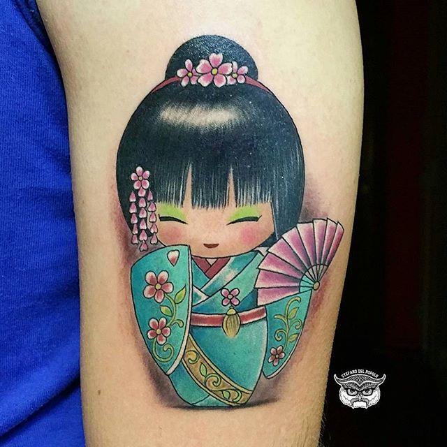 kokeshi tattoo - Sök på Google
