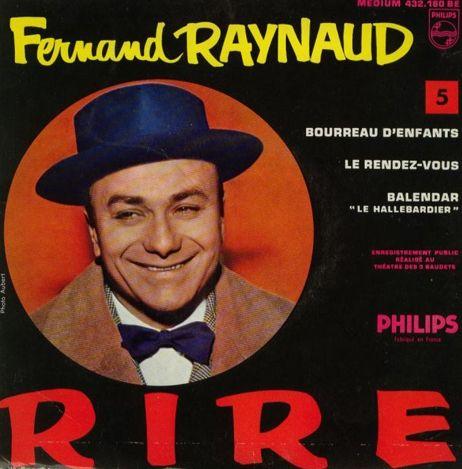 Les sketches et chansons de Fernand Raynaud