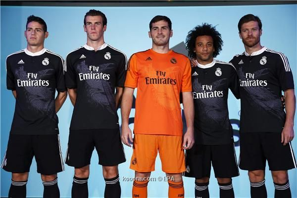 3rd kit for real madried  2014-2015