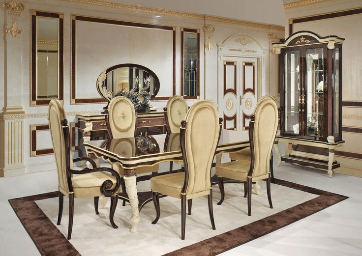 Prestige Collection Www.turri.it Classic Luxury Dining Room Furniture