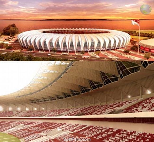 World Cup 2014 stadiums: Estádio Beira-Rio (Beira-Rio) stadium. Part II  16 PHOTOS   ... Currently the stadium fit to an international standard to host any national or international game.   http://softfern.com/NewsDtls.aspx?id=834&catgry=6