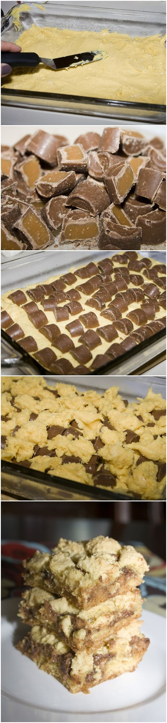 Nothing better than rolo cake bars to satisfy this chocolate lover! #emealsbakes