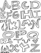 free coloring pages for all holidays and occasions and themes alphabet coloring pagesfree printable - Letters To Color Printable Sheets