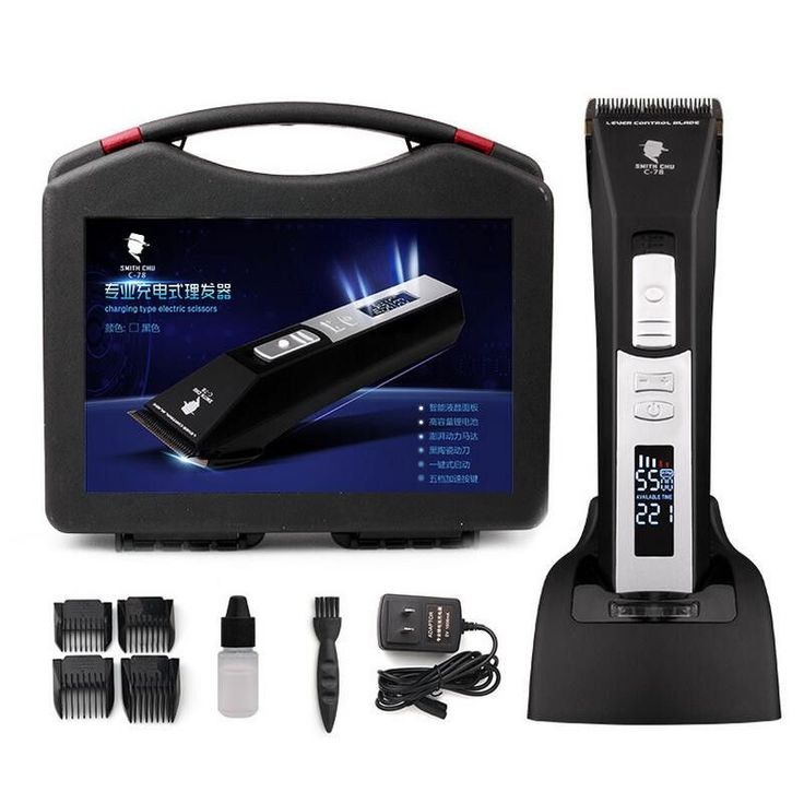 Professional Electric Hair Trimmer for Men Rechargeable