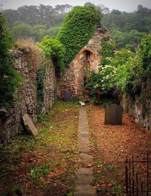 Ancient Church, Derry, Northern Ireland