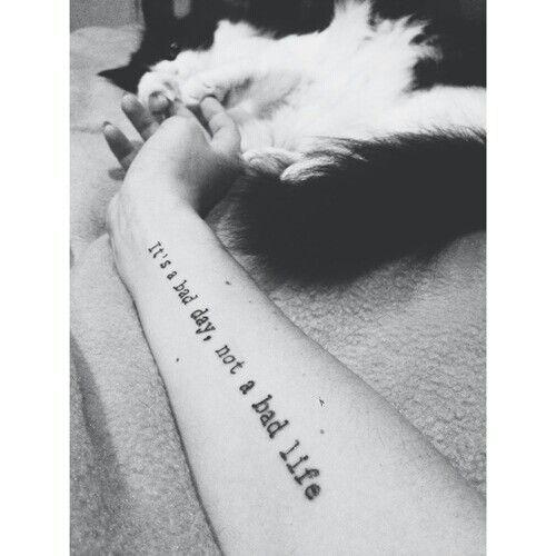Inspirational tattoo| radio Tattoo quote