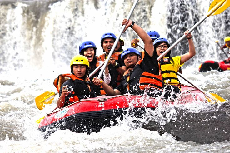 rafting on soko river, blitar east java,Indonesia