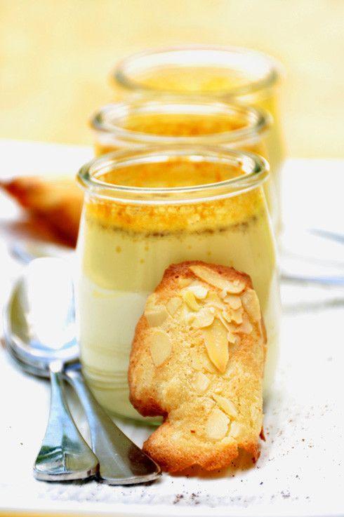 Crème à la vanille - oeufs au lait - recette facile - la cuisine de Nathalie