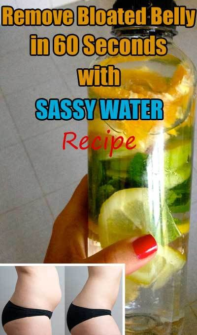 Sassy Water is a key element for a flat belly, and there's a good reason for it.