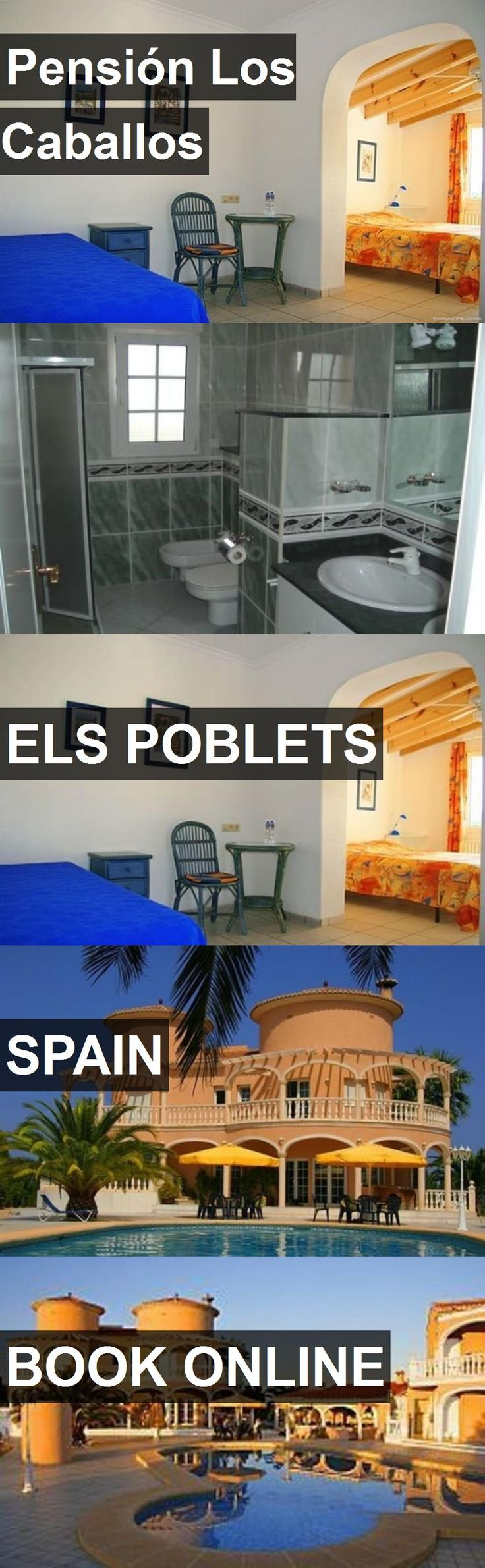 Hotel Pensión Los Caballos in Els Poblets, Spain. For more information, photos, reviews and best prices please follow the link. #Spain #ElsPoblets #travel #vacation #hotel