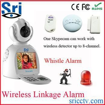 140.77$  Buy now - http://ali54u.worldwells.pw/go.php?t=1606493888 - Sricam SP003 3G Network P2P Free Video Call Wifi IP Security Camera Battery Operated Wireless IP Security Camera 140.77$