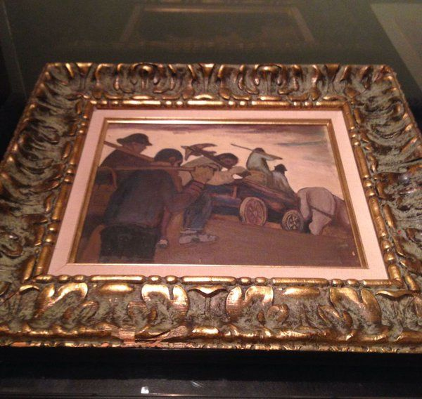 A painting by Sir Frederick Banting. See it up close at Banting House!
