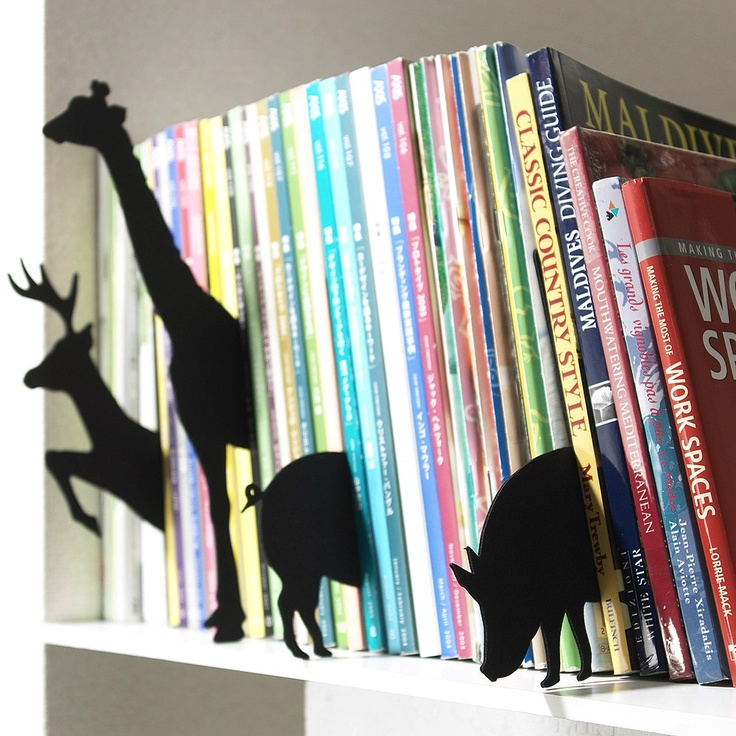 Great for organizing books!