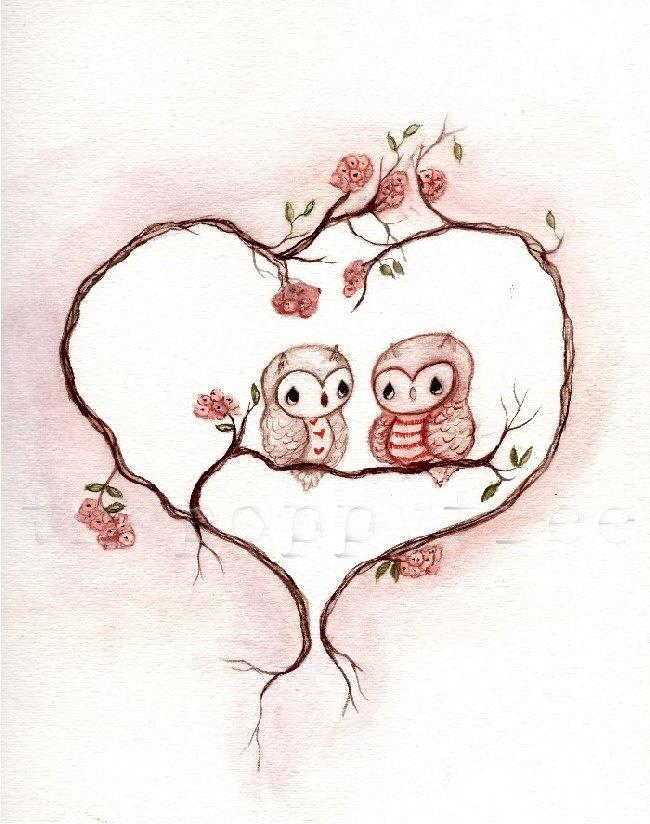 'owl love u forever & ever...' by Poppy Tree
