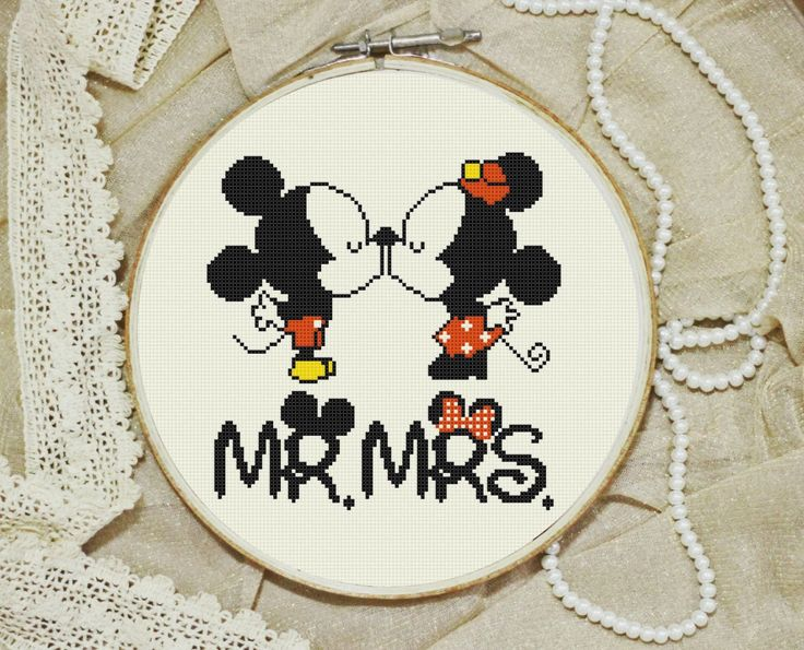 disney cross stitch pattern Modern Little mickey mouse and