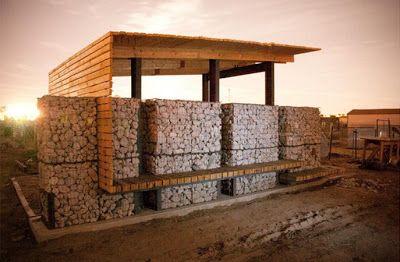 Construcción de centro de producción en una granja | Muebles De Palets