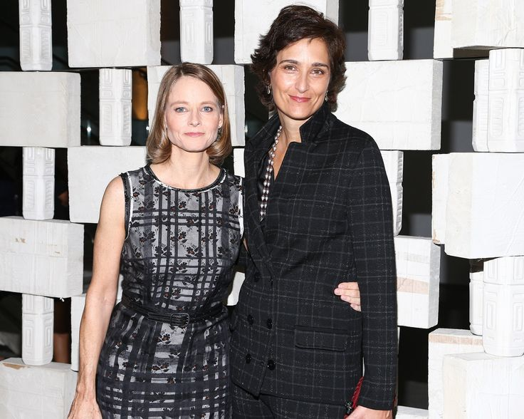 Jodie Foster and Alexandra Hedison both in Bottega Veneta