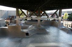 World famous Burnside Skate Park.