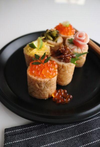 「簡単!優しい味*トッピングひとくちいなり寿司」たっきーママ | お菓子・パンのレシピや作り方【cotta*コッタ】