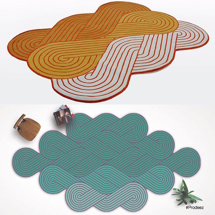 Tresse by Samuel Accoceberry for Chevalier Edition. For more info and images visit www.prodeez.com #furniture #rug #creative #design #ideas #designer #samuelaccoceberry #chevalieredition #interior #interiordesign #product #productdesign #instadesign #furnituredesign #prodeez #industrialdesign #architecture #style #art