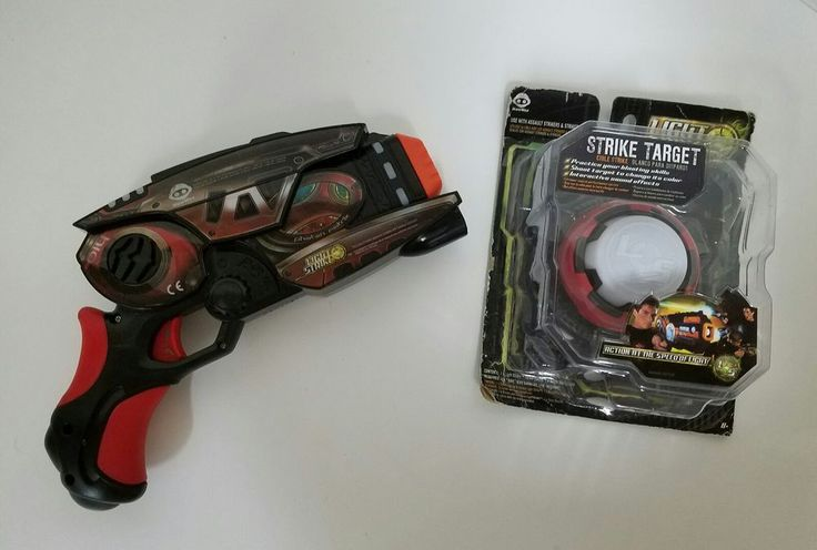 WowWee Light Strike  Laser Tag Gun and Target | Toys & Hobbies, Electronic, Battery & Wind-Up, Electronic & Interactive | eBay!