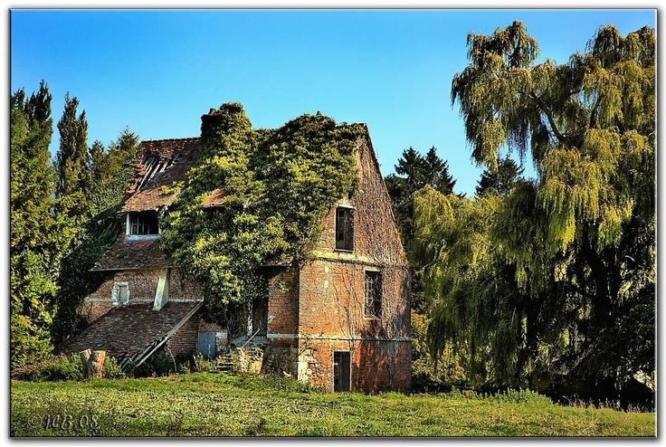La maison abandonnée à Elbeuf