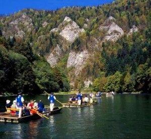 Dunajec river gorge rafting and Niedzica castle tour