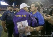 One Florida fan was touched by the reaction of LSU players and Tigers' coach Les Miles when wide receiver Latroy Pittman went down with what was believed to be a serious injury.