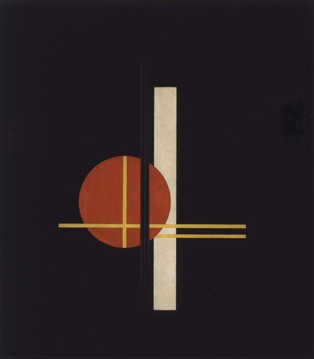 László Moholy-Nagy, Composition Q XX, 1923