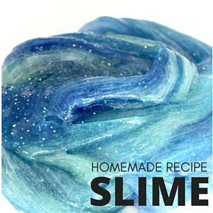 how to make slime with only liquid starch