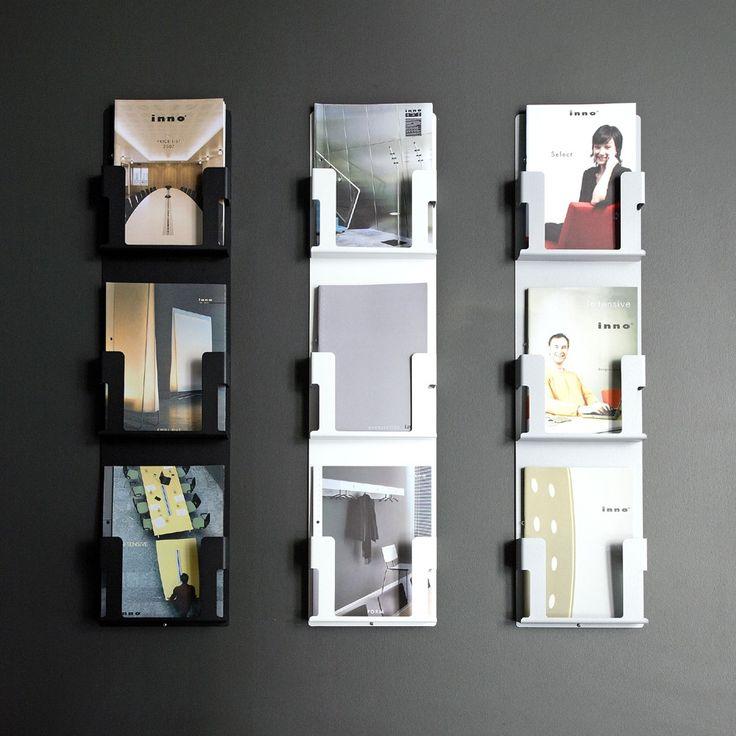 Inno AD-Case seinäkiinnitteinen lehtiteline