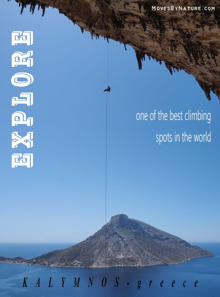 Kalymnos is also called the climbing Mecca of the world, go find it out for yourself!